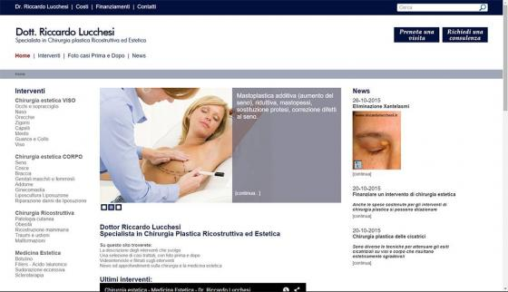 Dr. Riccardo Lucchesi - Home-page